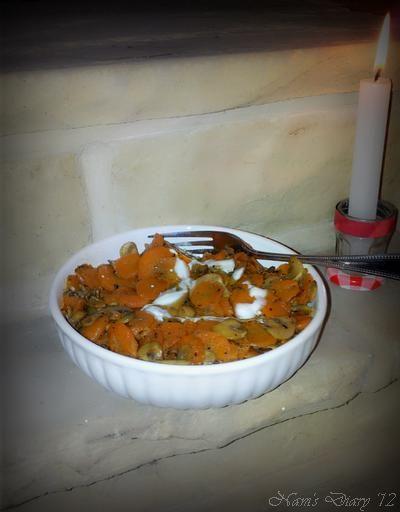 Carrot Mushroom Stir Fry