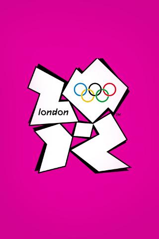 London 2012 Olympics Logo iPhone Wallpaper