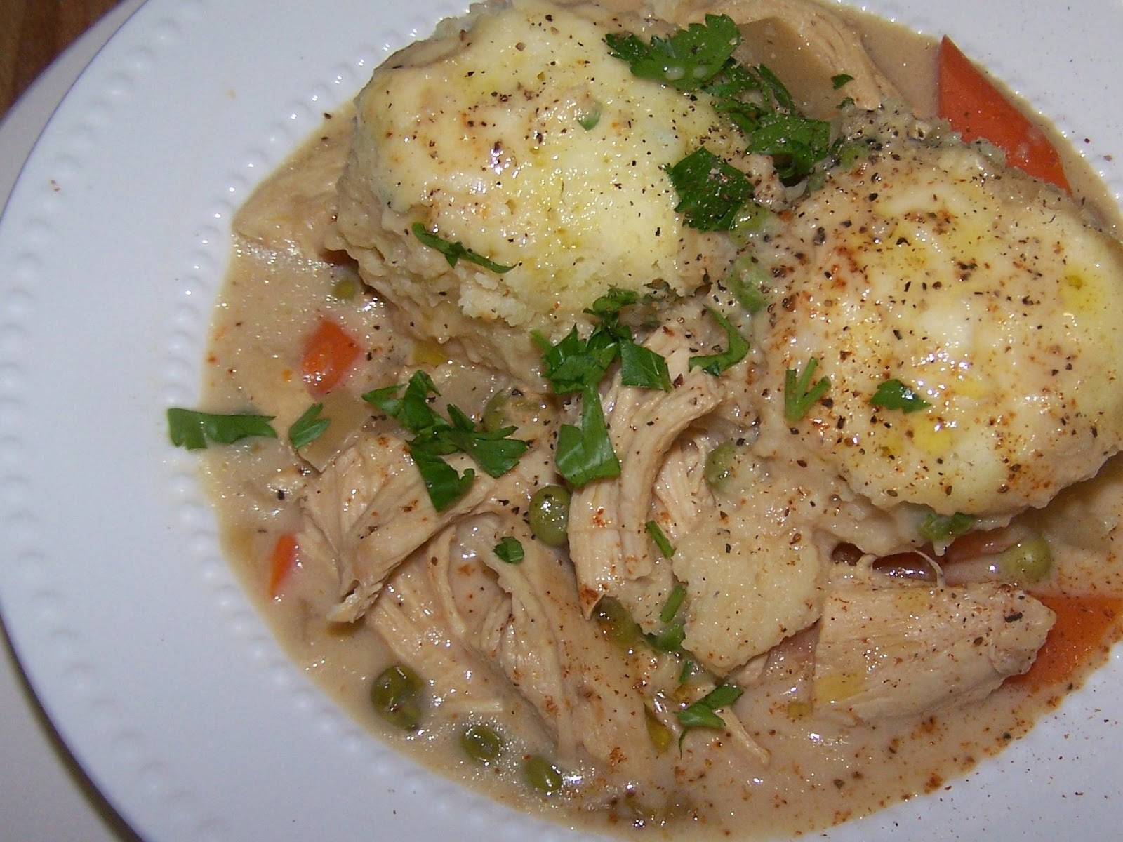 EZ Gluten Free: Chicken and Dumplings - Gluten Free Crock Pot Recipe