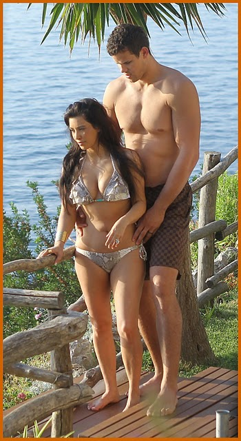 Kim Kardashian Hot Honeymoon Photos