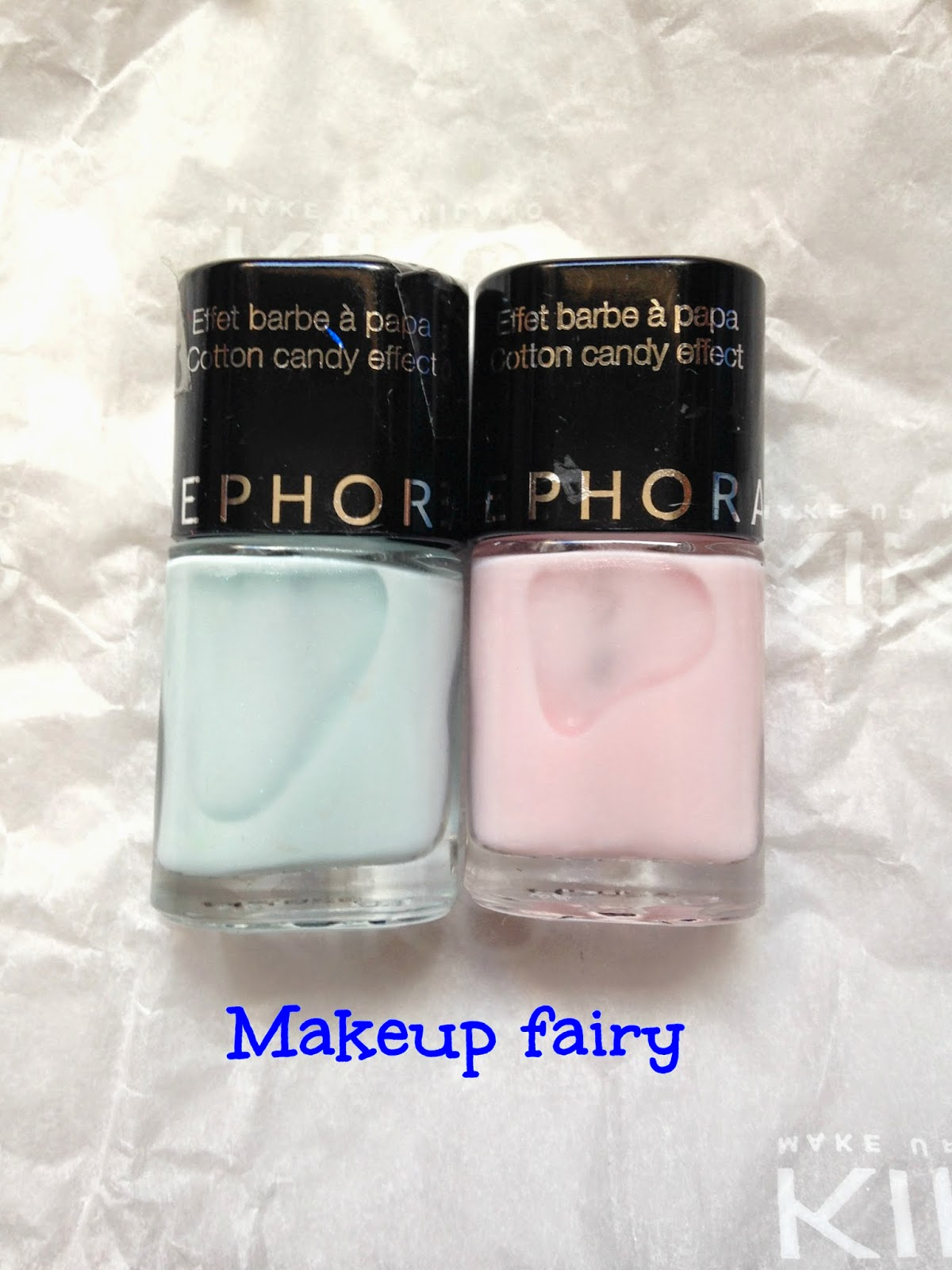 Tinklesmakeup: One product review :sephora nail polish cotton candy ...
