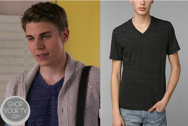 Awkward: Season 3 Episode 16 Colin's Navy V Neck – Shop ...
