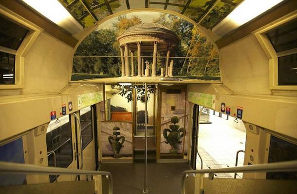 Comboios franceses - palácio de Versailles