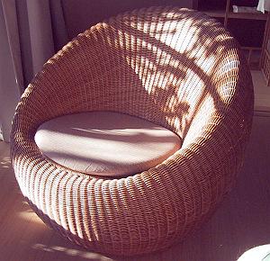 Mimbre, Muebles de Fibra Natural