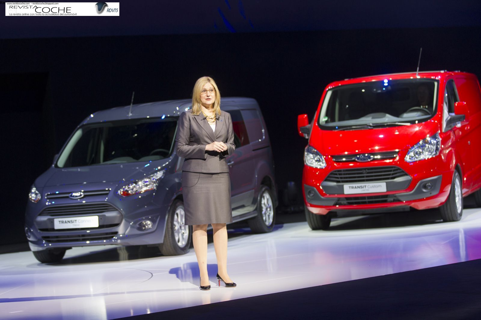 Nuevos Ford Transit y Ford Transit Connect 2013