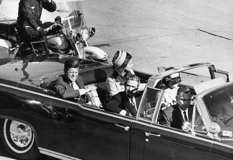 Jfk Being Shot