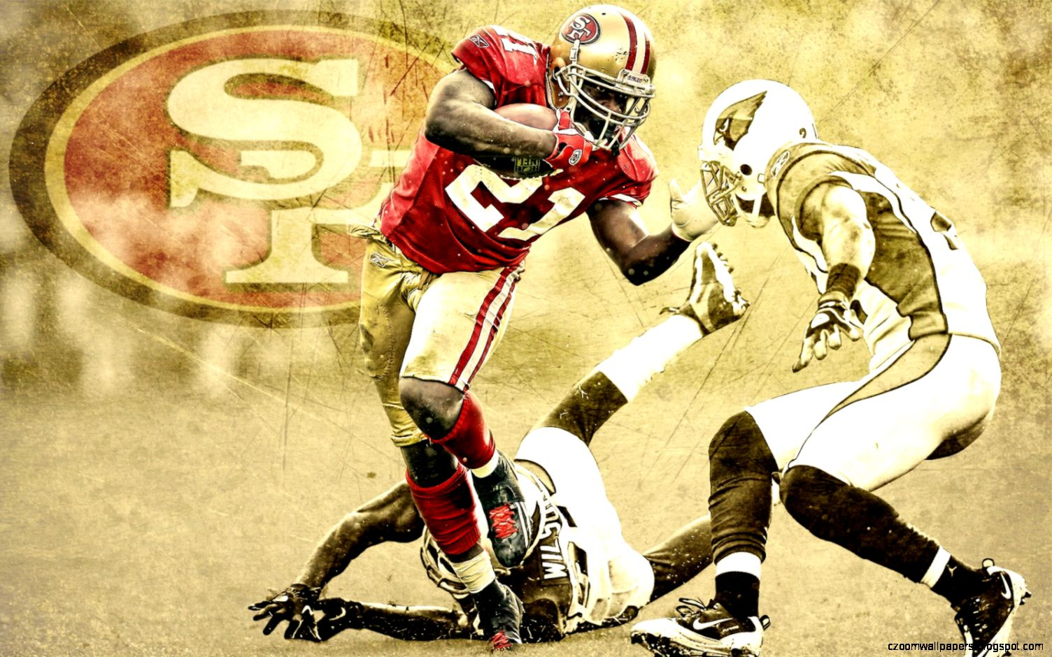 National Football All Sim League   Player Spotlight Frank Gore2 2