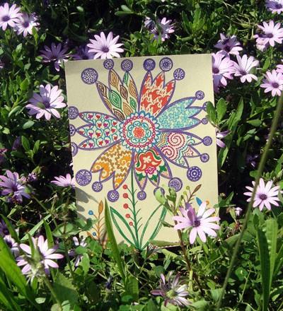 татарский цветок