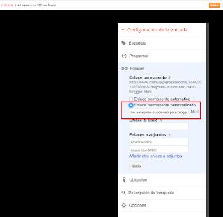Elementos clave para mejorar el posicionamiento en los buscadores con Blogger.