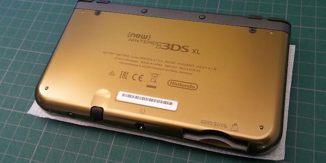 Troisième photo de la New 3DS XL Zelda Majora's Mask 3D édition collector