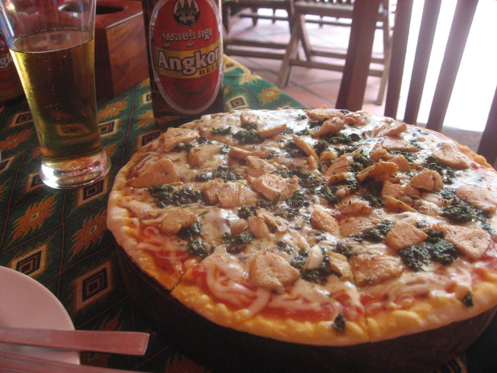 Super Happy Pizza in Cambodia