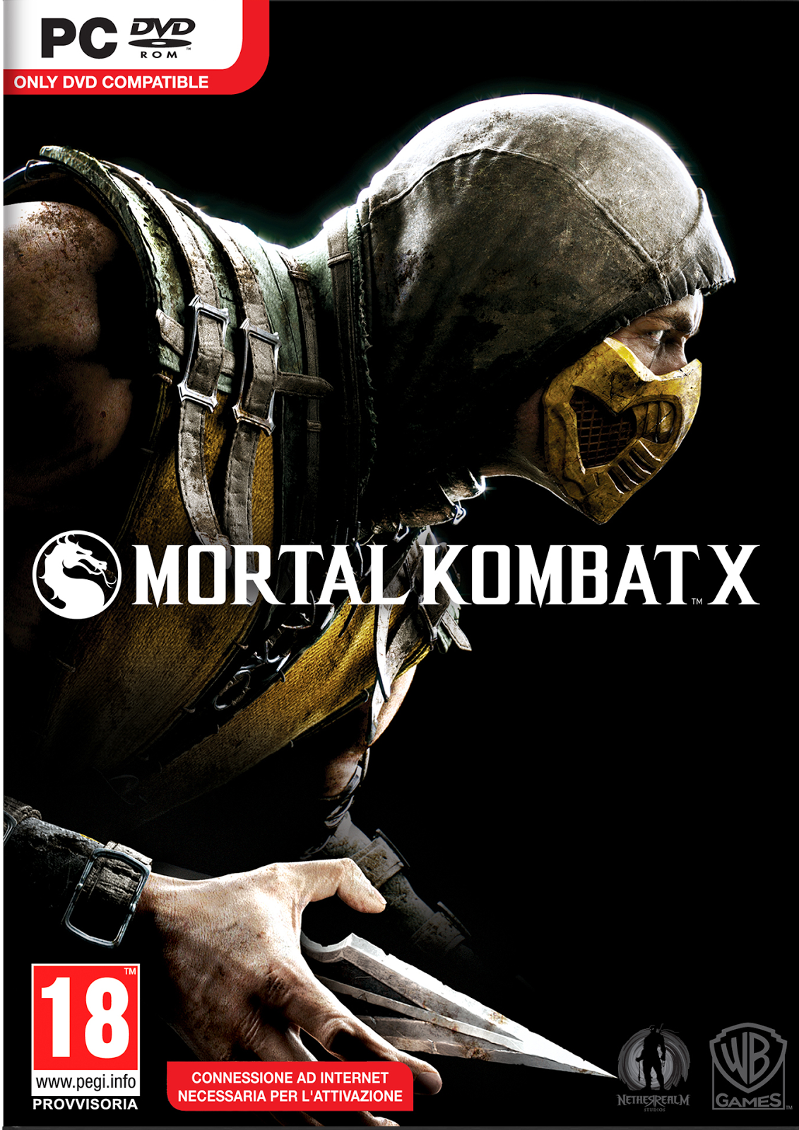 Capa Mortal Kombat X Torrent PC 2015