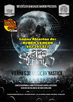 Flyer Viernes StarsStudio Bangaloo 31 de Mayo