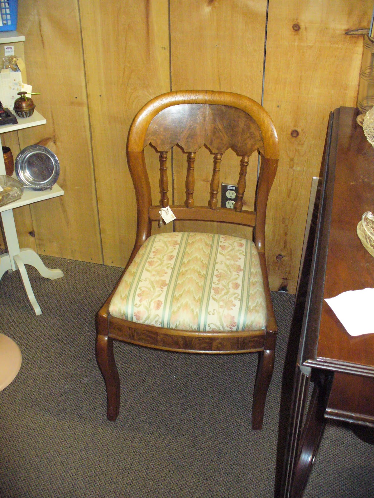 So Back On June 10th, In Market Roads Antiques, We Spotted These Two Chairs.