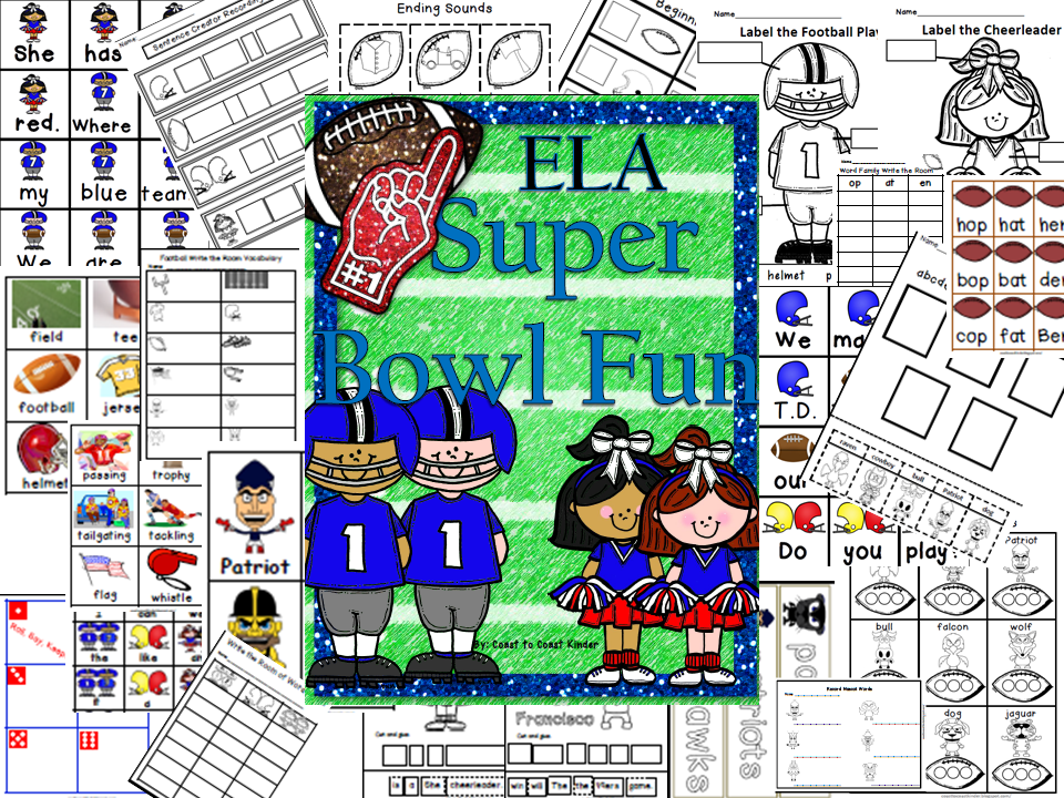 http://www.teacherspayteachers.com/Product/Super-Bowl-School-ELA-Activities-197623