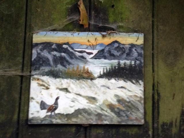 Die Kunst, den Alltag zu feiern...: Eine Hütte im Wald