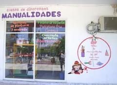FOTO DEL TALLER DE MANUALIDADES EN METLALTOYUCA, PUE.