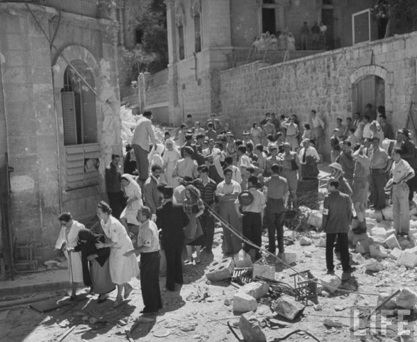 Beschrijving: http://3.bp.blogspot.com/-P4IBJiinuRY/TeskOZFIc3I/AAAAAAAAdbM/z2lop7MZuzU/s400/Jerusalem%2B1948%2B5.jpg