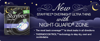 Free Stayfree Ultra Thin Pad