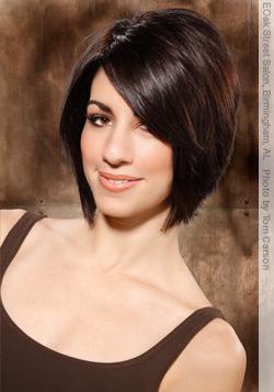 Peinados cortos para mujeres 2013