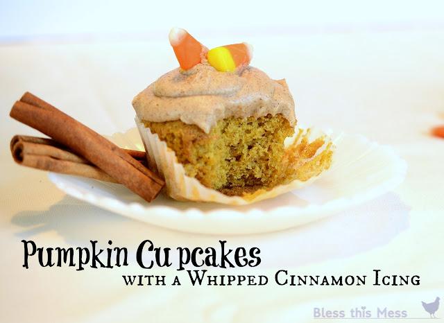 pumpkin cupcake recipe