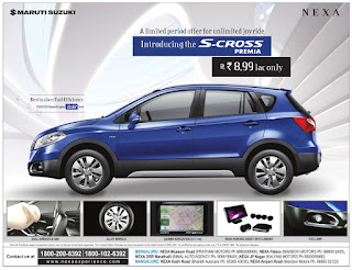 S-CROSS-PREMIA  A limited period offer for unlimited joyride