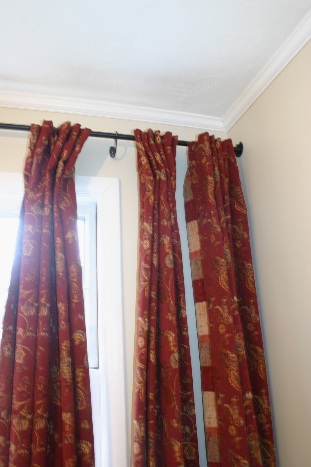 Wall to wall window treatments - No. 29 Design