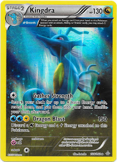 Kingdra Primal Clash Pokemon Card
