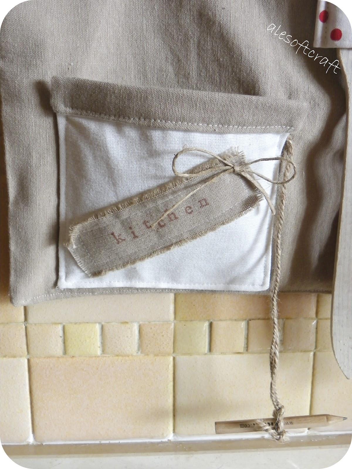 Tessuti creativi by alesoftcraft piccole cose x la mia cucina - Portamestoli ikea ...