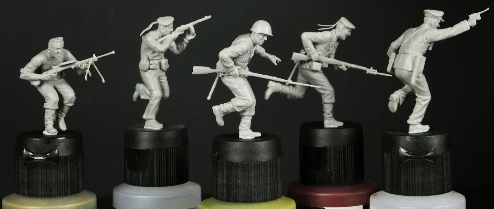"Masterbox - soviet marines ""Attack"" Pt III"