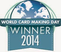 2014 World Card Making Day Winner!