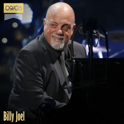 9 de mayo | Billy Joel - @billyjoel | Info + vídeos
