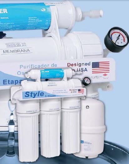 Purificador de agua por osmose inversa domesticos for Purificadores de agua domesticos