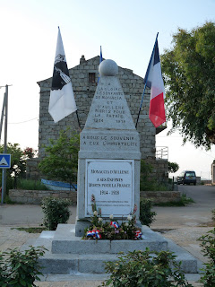 monument aux morts Monacia d'Aullène