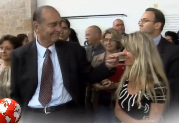 Petit Journal: Jacques Chirac drague encore (vidéo)