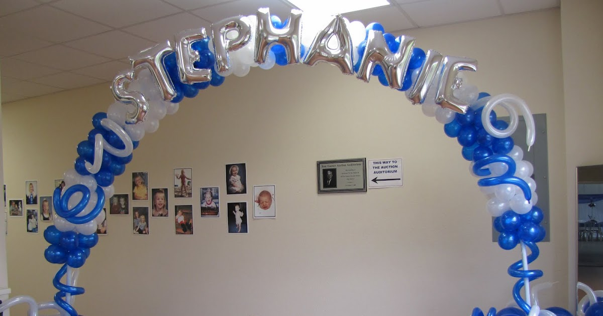 Party people event decorating company stephanie s graduation party