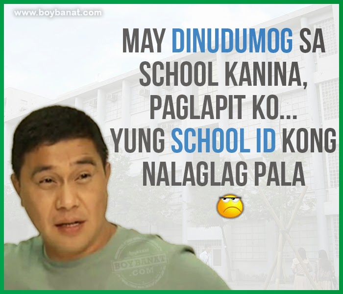 funny quotes tagalog about school