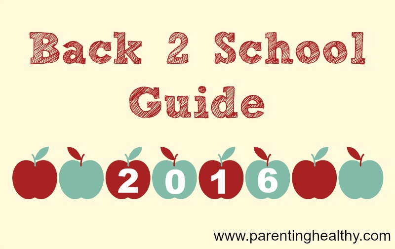 Back2School 2016 Guide