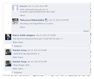 CSS Komentar Reply Blogger Desain Facebook