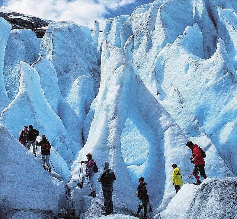 Nigardsbreen Glacier, Jostedal (Photo from Visit Norway)