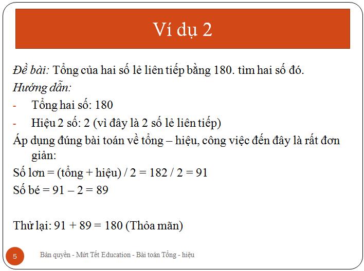 Bài toán tìm hai số khi biết tổng.hiệu(5)
