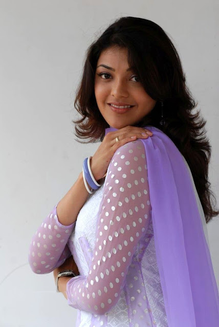 Beautiful Kajal Agarwal In White Dresses beautiful Wallpaper