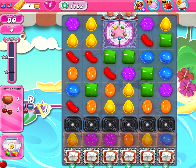 Candy Crush Saga 1162