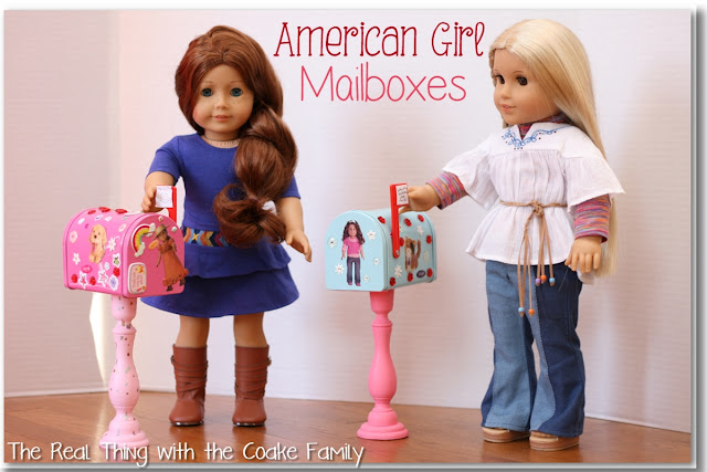 American Girl Craft ~ Mailboxes