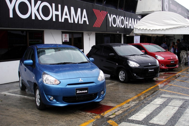 First Drive: 2013 Mitsubishi Mirage