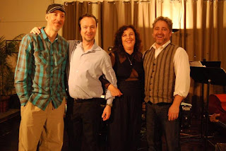 Ben Flint, Fred Randolph, Lisa B (Lisa Bernstein), and Alan Hall