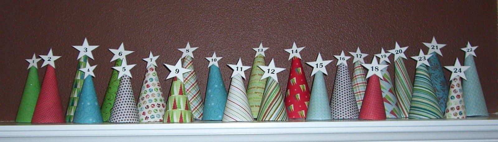 AdventCone C  Простые идеи рождественского календаря