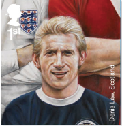 Denis Law stamp.