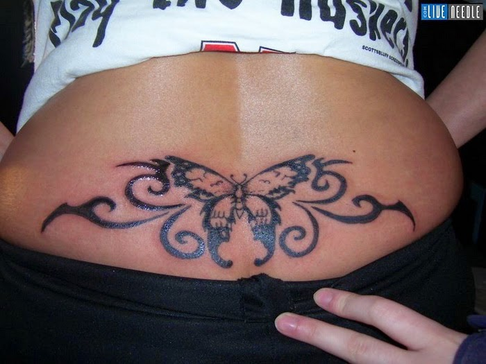 Lower back tattoos for women for Tattoo for lower back designs