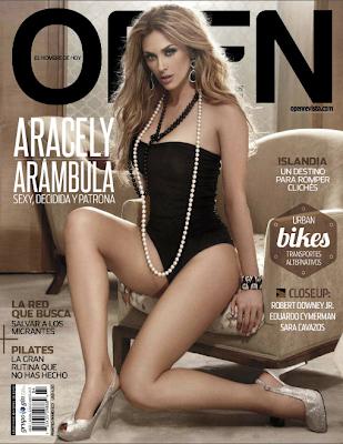 Aracely Arámbula Revista Open Mayo 2013